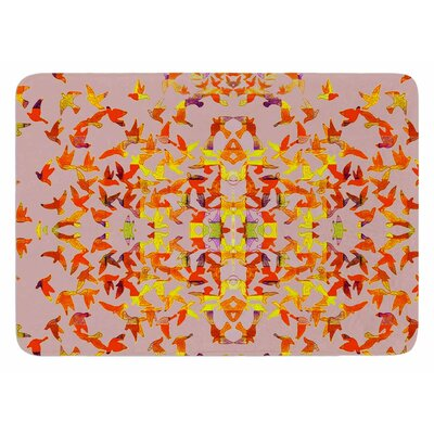 Flying Birds by Marianna Tankelevich Bath Mat