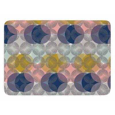 Retro Spring by Maike Thoma Bath Mat