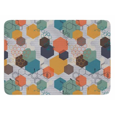 Biomolecular by Maike Thoma Bath Mat