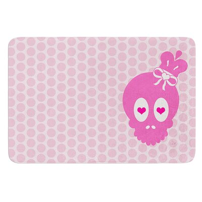 Skull by Nick Atkinson Bath Mat