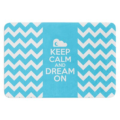 Keep Calm by Nick Atkinson Bath Mat