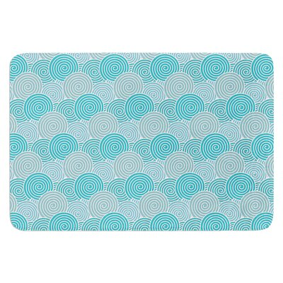 Ocean Swirl by Nick Atkinson Bath Mat