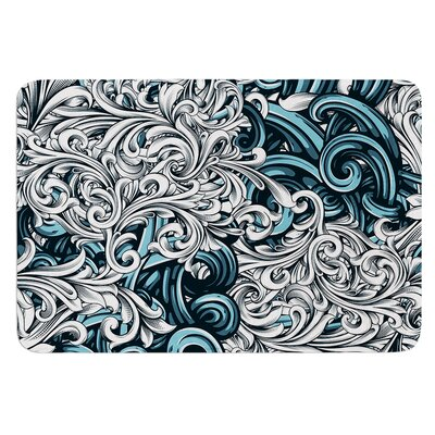 Celtic Floral II by Nick Atkinson Bath Mat
