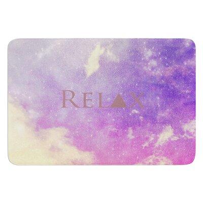Relax by Rachel Burbee Bath Mat