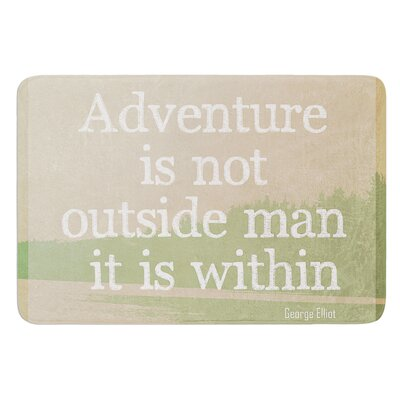 Adventure by Rachel Burbee Bath Mat