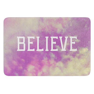 Believe by Rachel Burbee Bath Mat