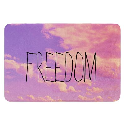 Freedom by Rachel Burbee Bath Mat