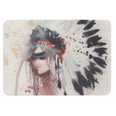 Warrior Bride Bath Mat