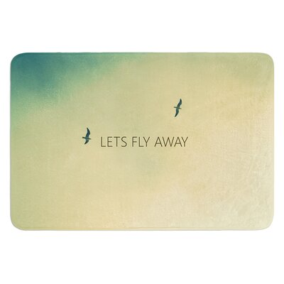 Lets Fly Away by Richard Casillas Bath Mat