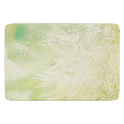 Love You More by Robin Dickinson Bath Mat