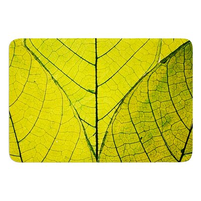 Every Leaf a Flower by Robin Dickinson Bath Mat