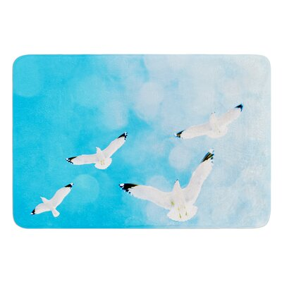 Fly Free by Robin Dickinson Bath Mat