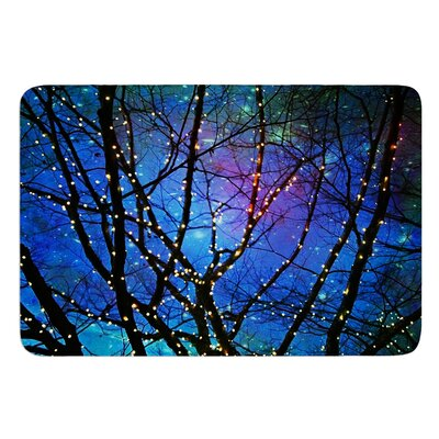 Holiday Lights by Sylvia Cook Bath Mat