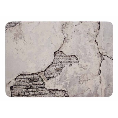 Crumbling Wall by Sylvia Cook Bath Mat