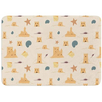Sandcastles by Stephanie Vaeth Bath Mat