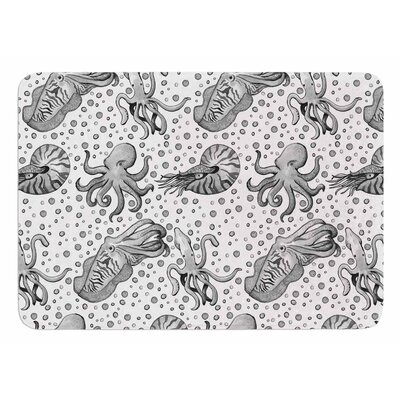 Cephalopods by Stephanie Vaeth Bath Mat