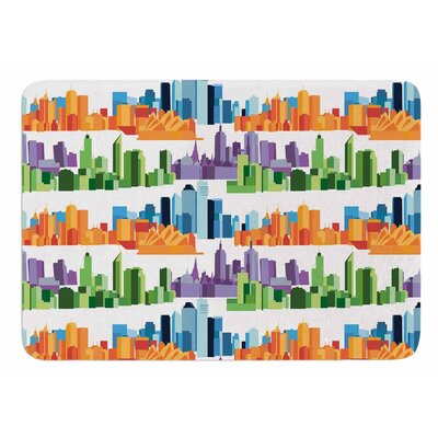 Australian Cities by Stephanie Vaeth Bath Mat