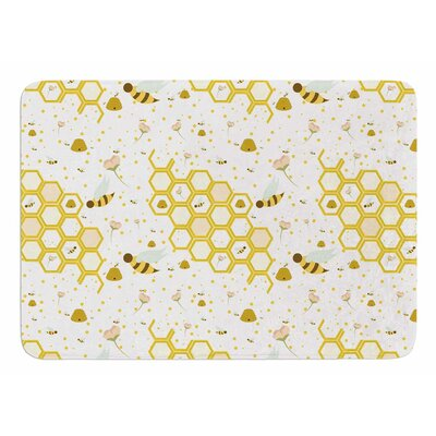 Honey Bees by Stephanie Vaeth Bath Mat