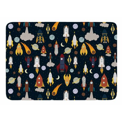Rockets by Stephanie Vaeth Bath Mat