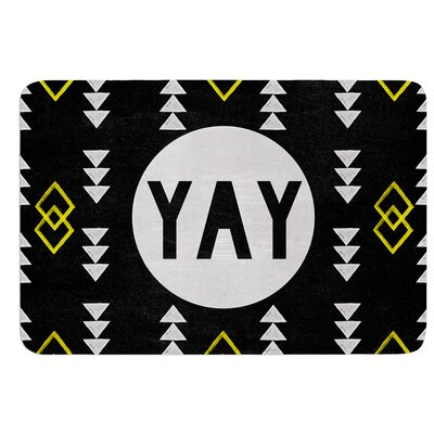 Yay by Skye Zambrana Bath Mat