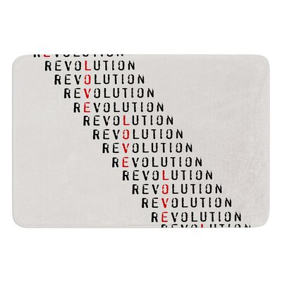 Revolution by Skye Zambrana Bath Mat