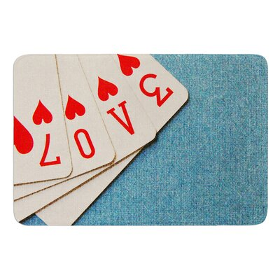 Love by Skye Zambrana Bath Mat