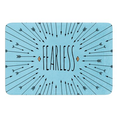 Fearless by Skye Zambrana Bath Mat