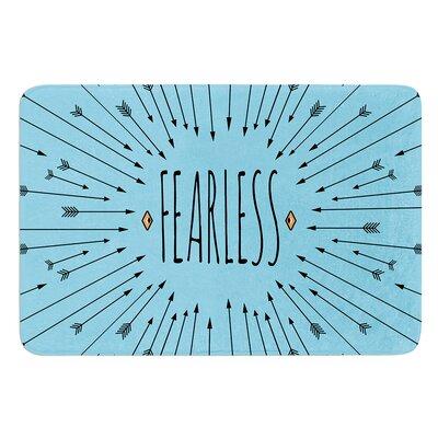 Fearless by Skye Zambrana Bath Mat