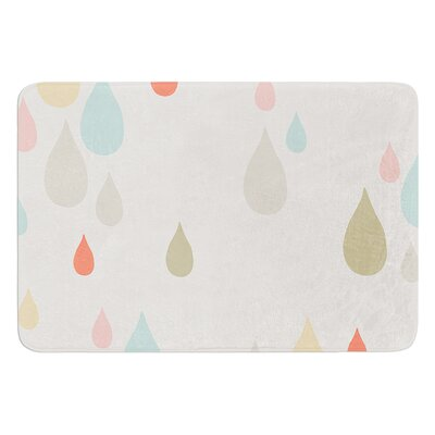 Rainy Days by Very Sarie Bath Mat