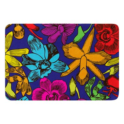 Lovely Orchids by Yenty Jap Bath Mat