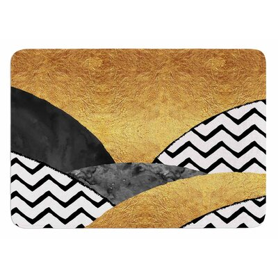 Chevron Hills by Zara Martina Mansen Bath Mat