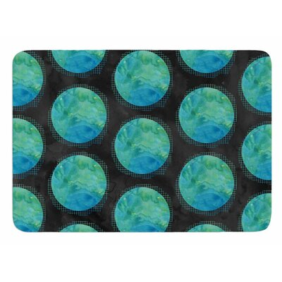 Moon Watercolor by Zara Martina Mansen Bath Mat