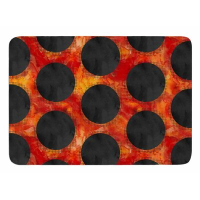Volcanic Black Holes by Zara Martina Mansen Bath Mat