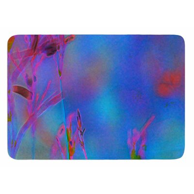 Painterly Foliage Series 3 by Malia Shields Bath Mat