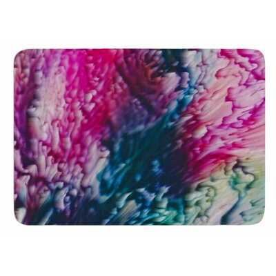 Splash Abstract Ink by Malia Shields Bath Mat