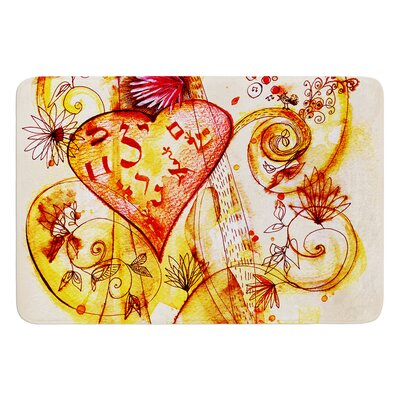 Tree of Love by Marianna Tankelevich Bath Mat
