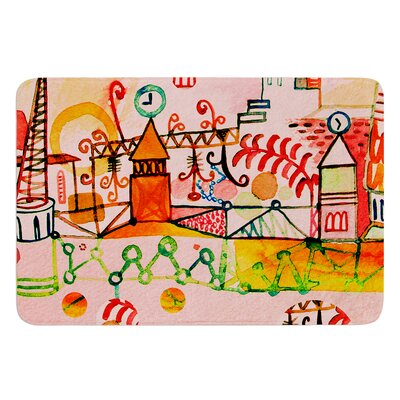 Happy Town by Marianna Tankelevich Bath Mat