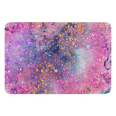 Pink Universe by Marianna Tankelevich Bath Mat