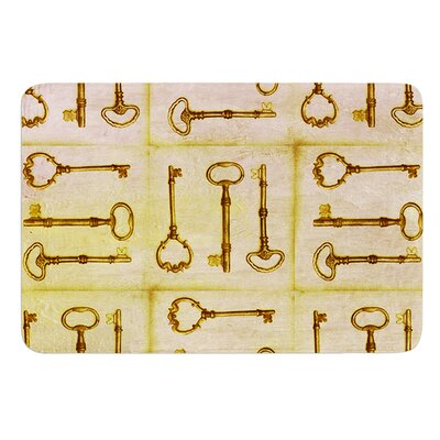 Secret Keys by Marianna Tankelevich Bath Mat