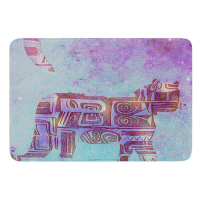 Panther at Night by Marianna Tankelevich Bath Mat