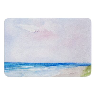 Wet Sand by Rosie Brown Bath Mat