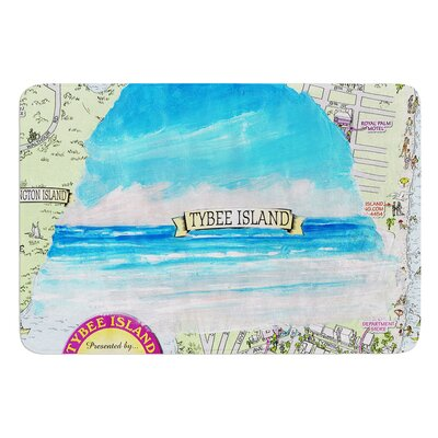 Tybee Island by Rosie Brown Bath Mat