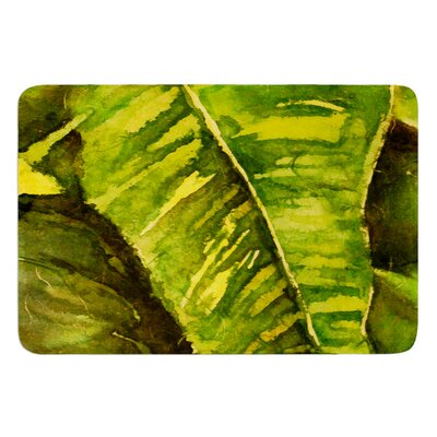 Tropical Garden by Rosie Brown Bath Mat