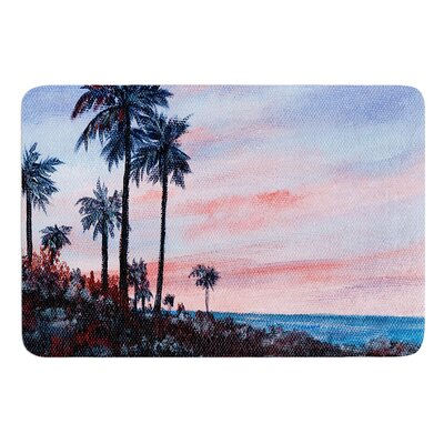 Florida Sunset by Rosie Brown Bath Mat