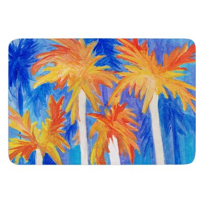 Florida Autumn by Rosie Brown Bath Mat