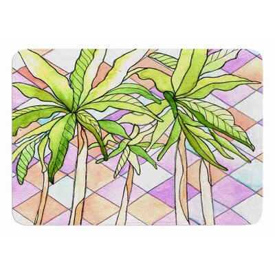 Geometric Tropic by Rosie Brown Bath Mat