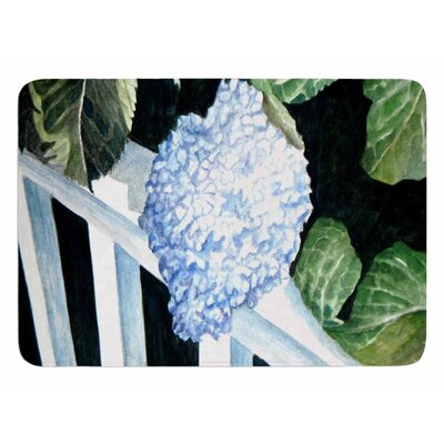 Hydrangea by Rosie Brown Bath Mat