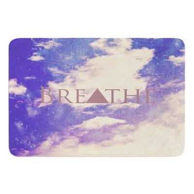 Breathe by Rachel Burbee Bath Mat