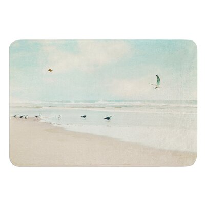 Away We Go by Sylvia Cook Bath Mat