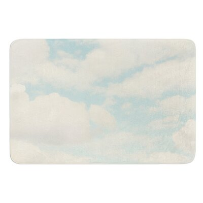 Clouds by Sylvia Cook Bath Mat